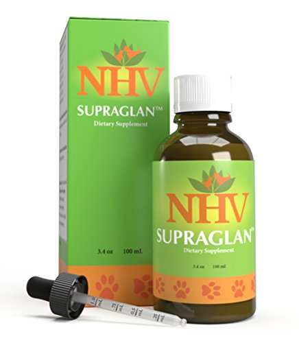 Herbs Supplements And Natural Dietary - NHV Supraglan | Support for adrenal dysfunction, Cushing's and Addison's disorders for cats, dogs, pets, All-natural, vet-formulated dietary supplement