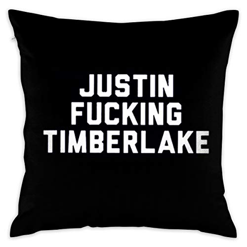 JERXANYD Justin Fucking Timberlake Pillow Cover Throw Pillow Case Fashion Style Cushion Covers