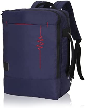Hynes Eagle Minimalist City Backpack for Up to 15.6 inch Laptop Flash Navy