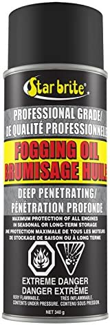 Star brite 084812C Fogging Oil Spray, 12 oz