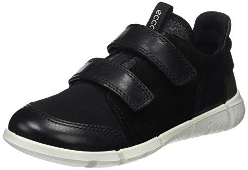 ECCO Intrinsic Sneaker, Zapatillas Unisex Niños Negro (Black/black)