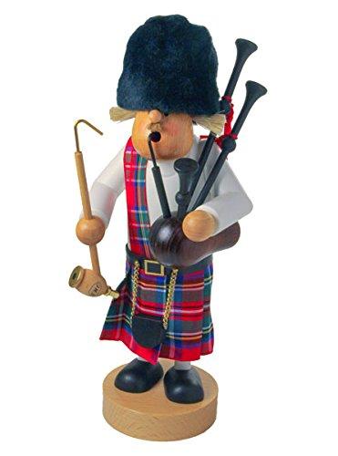 Bagpiper Scottish Incense German Smoker -