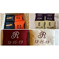 Embroidered Custom Cornhole Bags Personalized