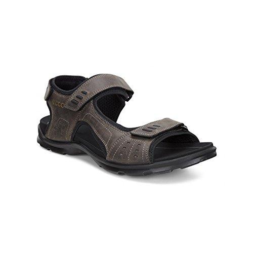 Ecco Mens Sandals (ECCO - Utah - 83411402072 - Color: Brown-Grey - Size: 11.5)