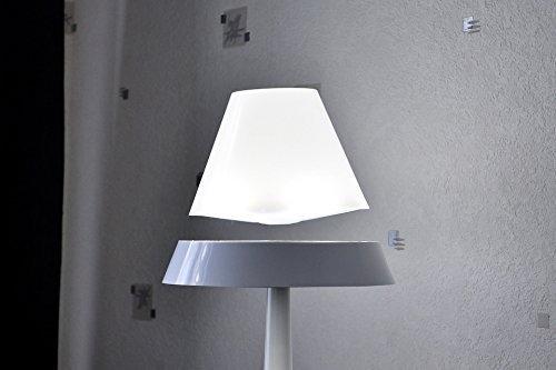 Die floating schwebende LED Tischlampe weiß 40cm: Amazon.de ...