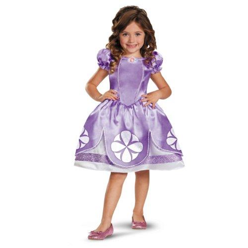 Girl's Disney Sofia The First Classic Costume, -