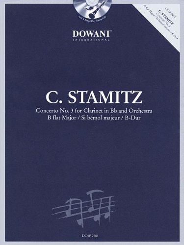 Download Stamitz: Concerto No. 3 in B-Flat Major: Clarinet and Piano Reduction ebook