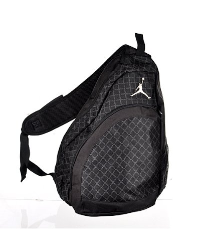 ... Jordan Jumpman Sling Backpack 9A1117-023 Black Size OS ... 23b61aa6b8988
