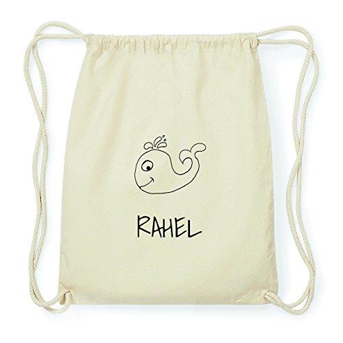 JOllipets RAHEL Hipster Turnbeutel Tasche Rucksack aus Baumwolle Design: Wal XTRGM