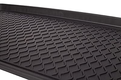 Boot Tray & Mat for Home and Kitchen, Pets & Gardening. Best for Everything From Entryway Tidy, Dog Food Bowls to Paint & Planting Trays. Premium Eco Friendly Polymer Tray for Your Floor Protection
