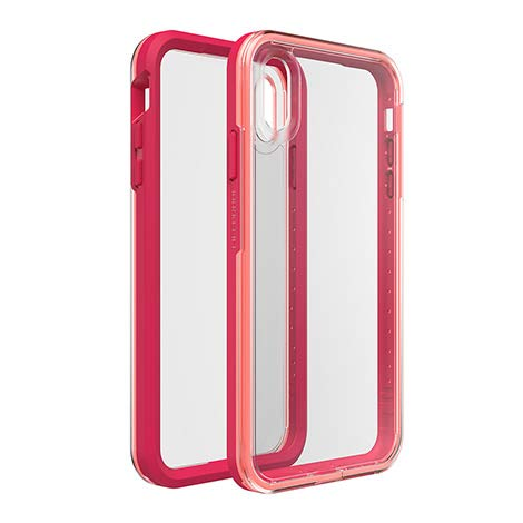 (New Life-Proof Life Proof SLAM iPhone X or Xs Case - Coral Sun Color)