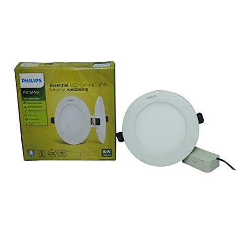 official photos 54b8e 677e5 Buy Philips AstraMax 10 watts Recessed LED Panel Ceiling ...