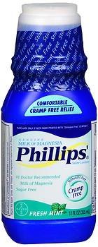Magnesia Of Fresh Mint Phillips Milk - Phillips Milk of Magnesia Fresh Mint - 12 oz, Pack of 6