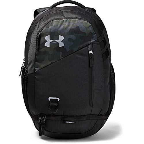 - Under Armour unisex-adult Hustle 4.0 Backpack, Desert Sand (290)/Silver, One Size Fits All