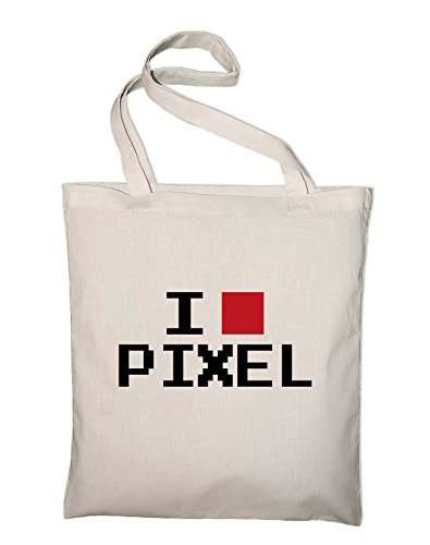 Bag Yellow yellow Styletex23bagilovepix8 Jute Cotton Geek Bag Love I Fun Natural Pixel x0OaZqw7