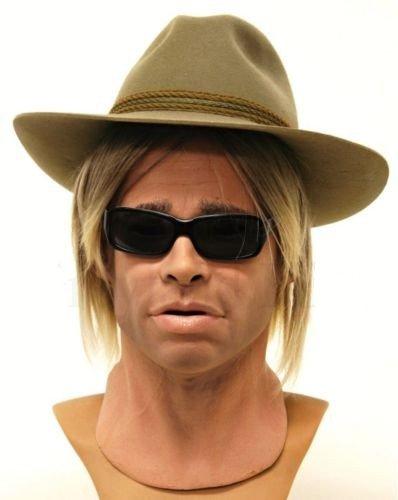 Ultra realistic Brad Pitt Mask Foamlatex spfx ()