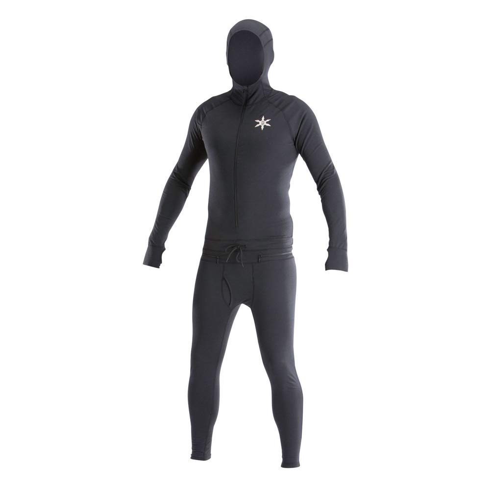 Airblaster Mens Classic Ninja Suit Baselayer/Black / M AB17MNJ1_004