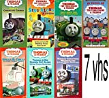 thomas & friends set 7 pack:Thomas and Friends - Spills and Chills and Other Thomas Thrills (2000), Percys Ghostly Trick, Thomas the Tank Engine and Friends - Percys Chocolate Crunch, Thomas & Friends - Christmas Wonderland , Thomas & Friends: Sing Along & Stories, Thomas the Tank Engine and Friends - Thomas & His Friends Get Along, 10 Years of Thomas the Tank Engine & Friends - Best Friends (