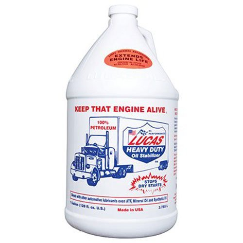 Lucas 10002 Heavy Duty Oil Stabilizer. Gallon (Quantity 4) by Lucas