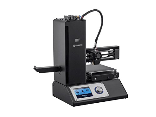 Monoprice Select Mini 3D Printer V2 - Black With Heated (120 x 120 x 120 mm) Build Plate, Fully Assembled + Free Sample PLA Filament And MicroSD Card Preloaded With Printable 3D Models - vapecentral.us