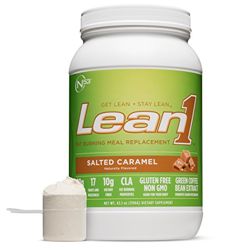 Nutrition 53 Lean1, Salted Caramel, Lactose Free Protein Powder, 23 Serving Tub, 3 lbs. Review