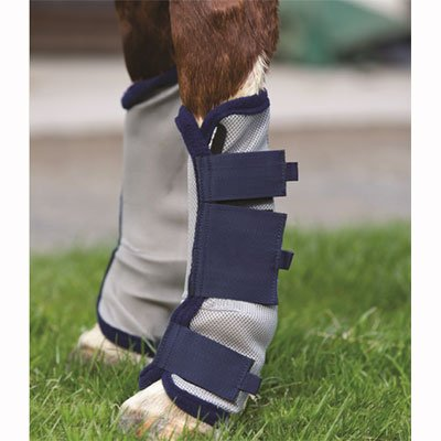 amiGO Fly Boots Pony Silver/Navy by amiGO