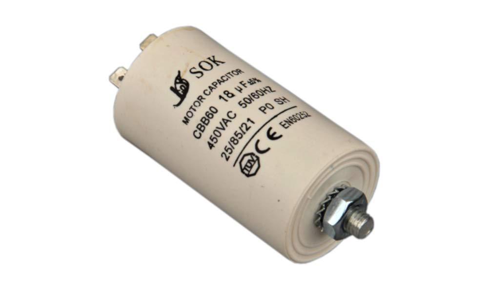 4.5UF 450 V Universal Motor Démarrage//MOTOR RUN condensateur