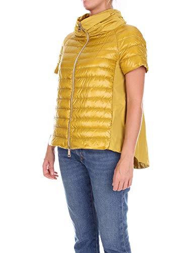 Mujer Amarillo Ultraligero Amarillo EN Herno Chaleco Nylon AwfpXq