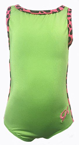 GK Elite Gymnastic Leotard Lime Green (TD)