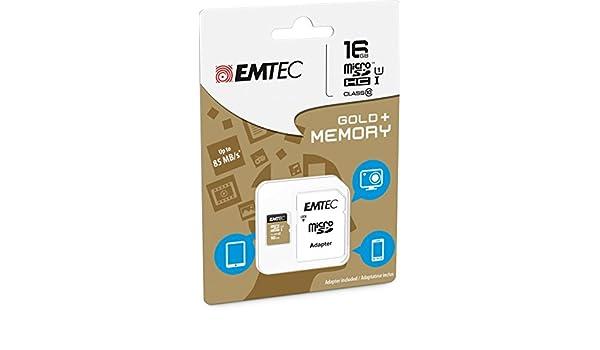 Tarjeta de memoria 16 GB para Huawei Y635 - Micro SD clase 10 + ...