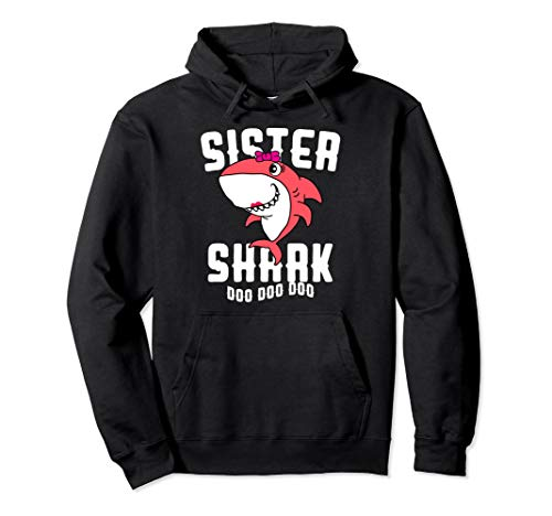 Sister Shark Hoodie Daughter Girls Halloween -
