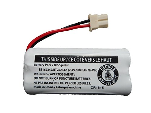 Replacement Battery BT162342 / BT262342 for Vtech AT&T Cordless Telephones CS6114 CS6419 CS6719 EL52300 CL80111 (Bt283342 Cordless Phone Battery)