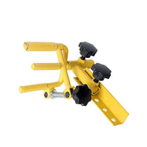 SODIAL Stainless Steel Adjustable Archery Parallel Bow Vise Support Bow Stand Archery Sport Competition Equipment for Hunting