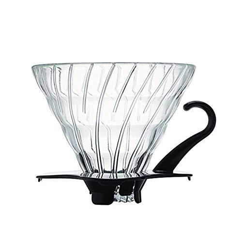 (Hario V60 Glass VDG-02B Coffee Dripper Size 02)