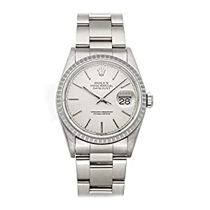 Best Epic Trends 41AFw7nkWBL._SS300_ Rolex Datejust Mechanical (Automatic) Silver Dial Mens Watch 16220 (Certified Pre-Owned)