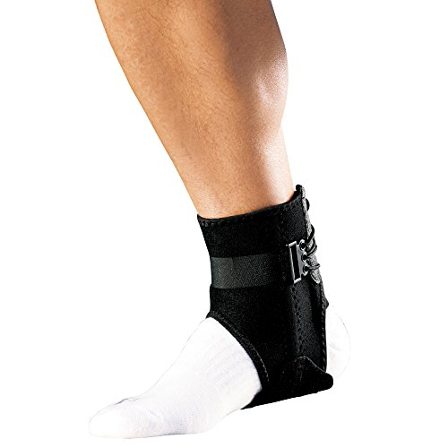 ACE Brand Ankle Brace with Side Stabilizers, America's Most Trusted Brand of Braces and Supports, Money Back Satisfaction Guarantee