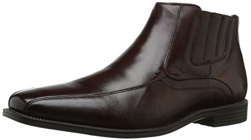 Florsheim Men's Forum Bike Toe Side Zip Chelsea Boot, Brown, 13 D - Boot Forum Leather