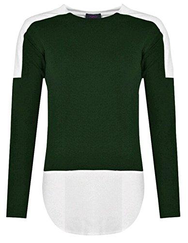 Baleza - Camiseta de manga larga - para mujer Khali & White