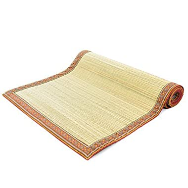 Milliard Eco Friendly Natural Grass Tatami Yoga Mats - Nonslip 72 x 24 Inches