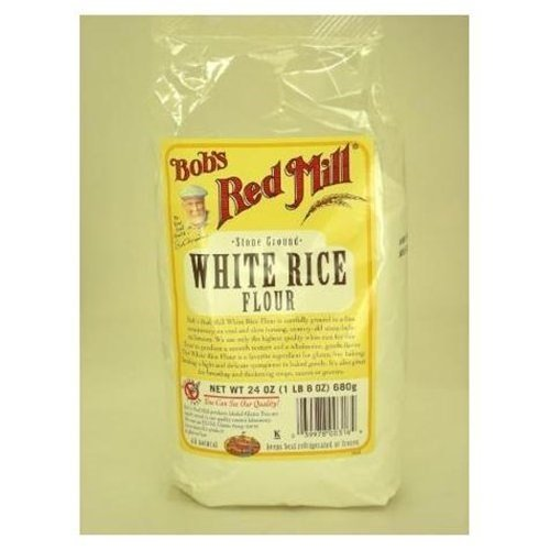Bob's Red Mill Gluten Free White Rice Flour 24 oz(Pack of 3)