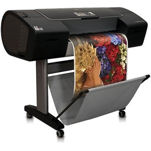 "Price comparison product image HP Designjet Z3200PS PostScript Inkjet Large Format Printer - 24"" - Color"