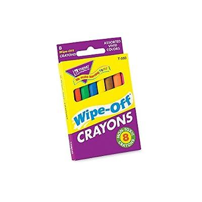 8-Pack Regular Wipe-Off® Crayons: Toys & Games