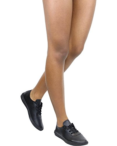 Refresh Womens MACY-01 Just Another Day Shoe Black