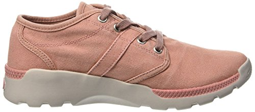 Palladium Women's Pallaville CVS Low-Top Sneakers, Pink, 5 UK Pink
