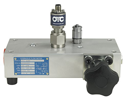 OTC Tools 4291 100 GPM Flow Block with Loading Valve - Hydraulic Flow Tester