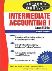 Schaum's Outline of Intermediate Accounting I 2nd (second) edition Text Only