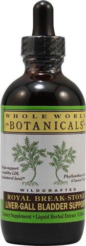 Whole World Botanicals Royal Break Stone Liver Gall Bladder Support -- 4 fl oz - 3PC