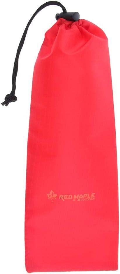Baoblaze Sac de Rangement Piquet de Tente Marteau Pochette Cordelette Sac Rouge