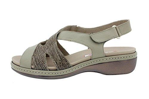 Plantilla Confort Piel Extraíble 180813 Sandalia Zapato Visón Piesanto xTHqS6