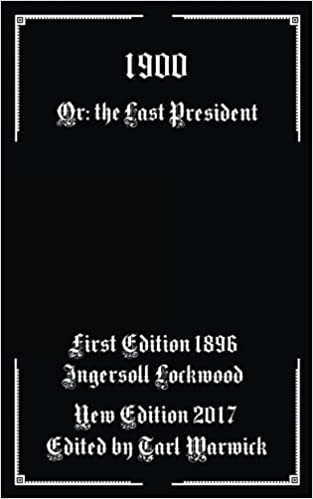 Image result for picture of the last president by ingersoll lockwood